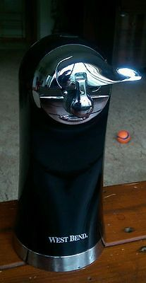 West Bend Electric Can Opener 77202 - black - Tall/Modern Look - Works Great!