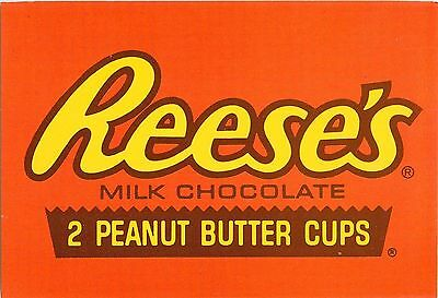 Hershey Park Reese's Peanut Butter Cups Postcard Candy Chocolate