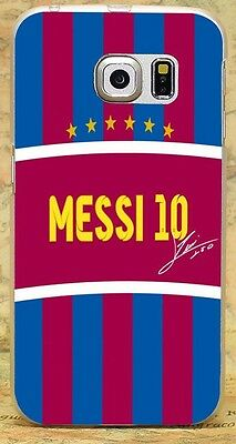 FC Lionel Messi 10 Soccer Style Rigid Case Cover Skin Shell For All Phone Models