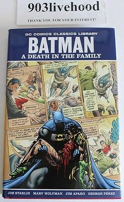 Dc Comics Library Classic Batman Death In The Family Hc Hardcover Signed 2009