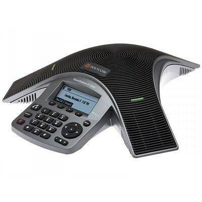 *NEW* Polycom SoundStation IP 5000 PoE VoIP Conference Phone P/N: 2200-30900-025