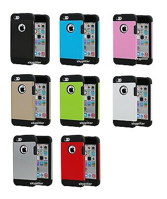 For Apple iPhone & Plus Case Cover Strong Slim Armor ShockProof Hard Hybrid