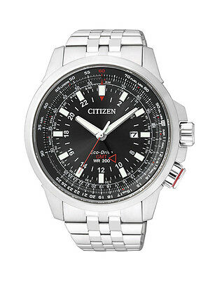 NEW Citizen Mens Stainless Steel Eco-Drive Promaster Watch - BJ7070-57E