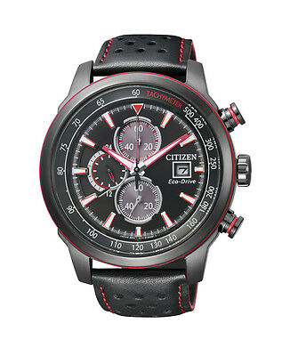 NEW Citizen Mens Stainless Steel Eco-Drive Sporty Watch - CA0576-08E