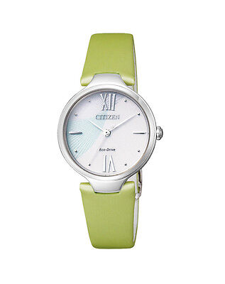 NEW Citizen Ladies Stainless Steel Eco-Drive Casual Watch - EM0040-04A