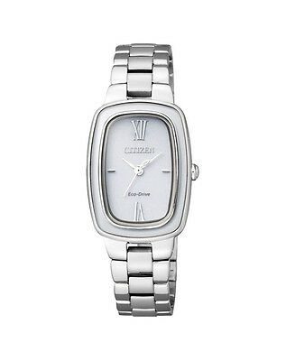 NEW Citizen Ladies Stainless Steel Eco-Drive Dress Watch - EM0005-56A
