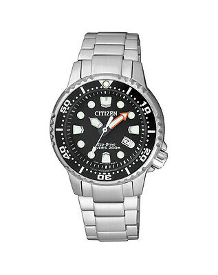 NEW Citizen Ladies Stainless Steel Eco-Drive Promaster Watch - EP6050-68E