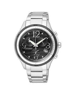 NEW Citizen Ladies Stainless Steel Eco-Drive Dress Watch - FB1376-54E