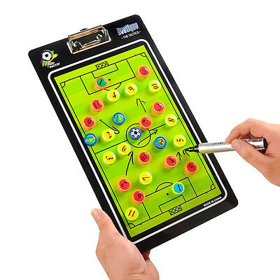 Portable Soccer Match Training Tactical Football Board PVC Magnetic Chess Board