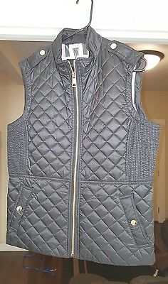 New and Authentic Burberry Womens Tindale Vest Size XL