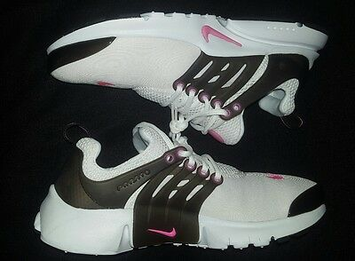 Nike air presto youth shoes size 6y white pink womens size 7.5
