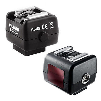 Viltrox FC-7SN Trigger Flash Hot Shoe Adapter For Canon Nikon Pentax Sony Camera