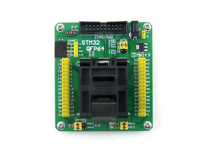 Yamaichi STM32-QFP64 IC Test & Burn-in Socket with board for STM32 microcontroll