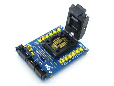 Yamaichi M64+ ADP IC Test & Burn-in Socket with boardfor AVR MCUs in TQFP64 pack