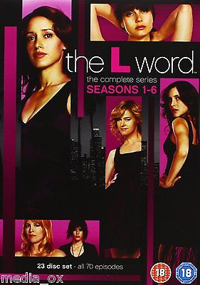 The L Word - Complete Season 1 2 3 4 5 & 6 Series Box Set Collection | New | DVD