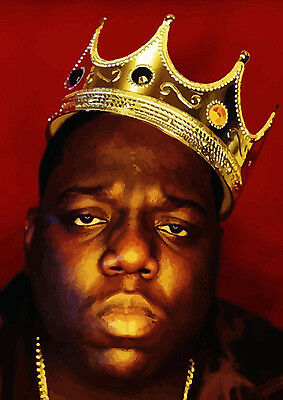 Biggie Smalls Notorious BIG Luke Cage Giant Poster Print - A0 A1 A2 A3 A4 Sizes