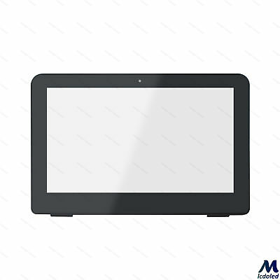 """11.6"""" Touch Screen Digitizer Glass Panel +Frame for HP Pavilion X360 11-K Series"""