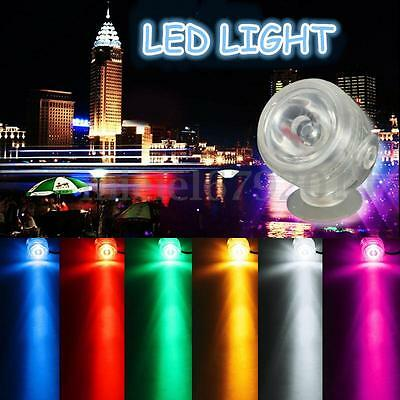 LED Submersible Aquarium Etanche Spot Lampe Bulle D'Air Lampe Poisson Réservoir