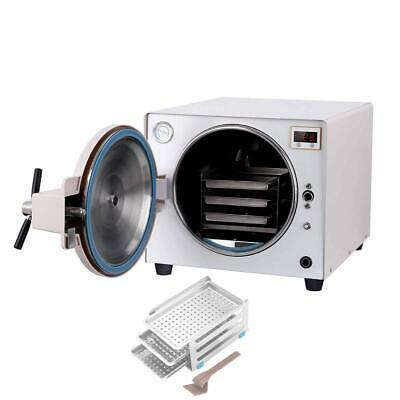 Mini 2L Dental Steam Autoclave Sterilizer Class B 3 Times Pre-vacuum D-Type New
