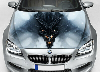 Dragon Car Hood Wrap Color Vinyl Sticker Decal Fit Any Car