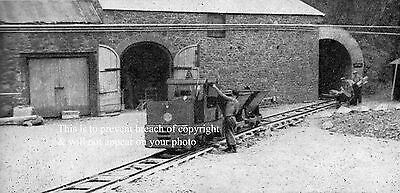 Photo Of Contractor's Narrow Gauge Railway In Sark Channel Islands