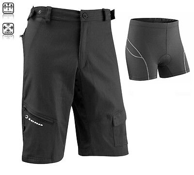 Mens Off Road/DH Shorts + Deluxe Padded Boxers Combo