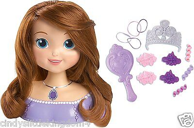 New Sofia the First Styling Head 14 Piece Playset