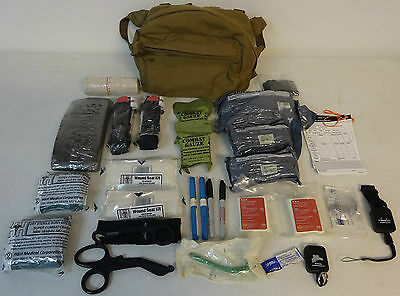 CTB V3/CLS Rescue Combat Trauma Bag Gently Used W/ New Medical Supply