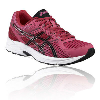 Asics Gel-Contend 3 Womens Pink Cushioned Running Sports Shoes Trainers