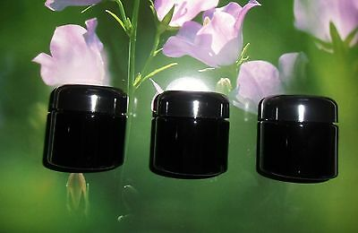 Miron Violettglas 3 Cosmetic jars with cover 100 ml Content