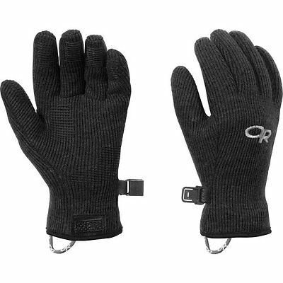 Outdoor Research Kids Flurry Gloves, Black, Large