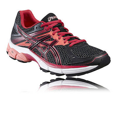 Asics Gel-Innovate 7 Womens Red Black Support Running Sports Shoes Trainers