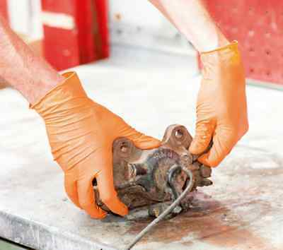 Wurth Heavy Duty Nitrile GRIP Mechanic Plumber Electric Disposable Gloves (50)
