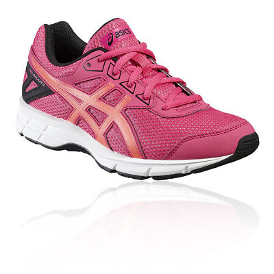 Asics Gel-Galaxy 9 GS Junior Pink Cushioned Running Sports Shoes Trainers