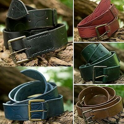 Aruthian Leather Tunic Belt - For Stage, Re-enactment, Costume & LARP. 5 Colours