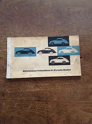 Original Reutter Maintenance Manual Porsche 356A *rare