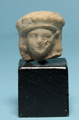 Greek Terracotta Head of a Woman - Ancient Art & Antiquities