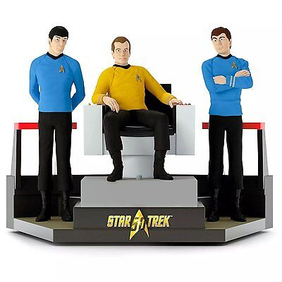 To Boldly Go 2016 Hallmark Ornament Star Trek 50th Anniversary Tabletop Starship