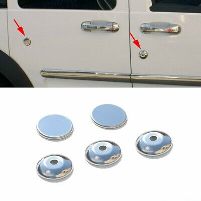 2002-2009 Ford Transit Tourneo Connect Chrome Door Key Lock Cover 5Pcs S.Steel