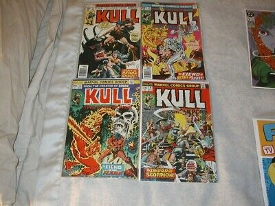 Kull The Conqueror U-PICK ONE #9,13,19,23 Marvel 1973-77 Issues PRICED PER COMIC
