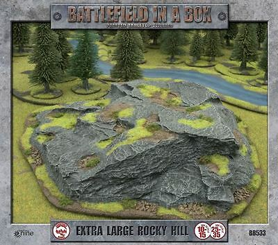 Extra Large Rocky Hill - Battlefield in a Box