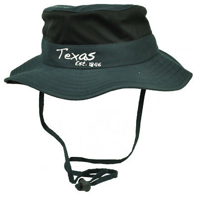 8808f7a13a7132 Texas State Navy Blue Booney Sun bucket Hat Chin Strap Mesh Band Outdoors  USA