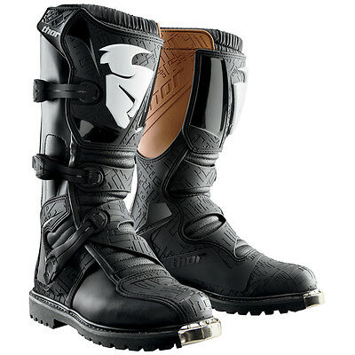 THOR Blitz ATV Offroad Motocross Boots (Black) Choose Size