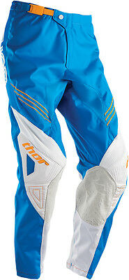 THOR MX Motocross 2016 Kids PHASE Pants (HYPERION Blue/White) Youth Sizes