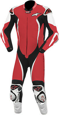 ALPINESTARS GP TECH 1-PC Leather Motorcycle Suit (Red/White/Black) Choose Size