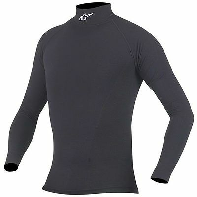 ALPINESTARS Summer Tech Long Sleeve Under Suit Top (Black) Choose Size