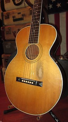 Vintage 1920's Gibson L-1 Acoustic Guitar Natural w/ Hard Case Sounds Incredible