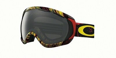 oakley canopy ski goggles  New OAKLEY CANOPY SNOW - Stumped Rasta w/ Dark Grey Lense Ski ...