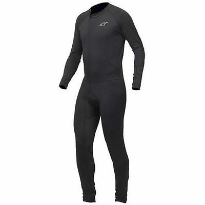 ALPINESTARS Tech Race One-Piece Motorcycle Under Suit (Black) L (Large)