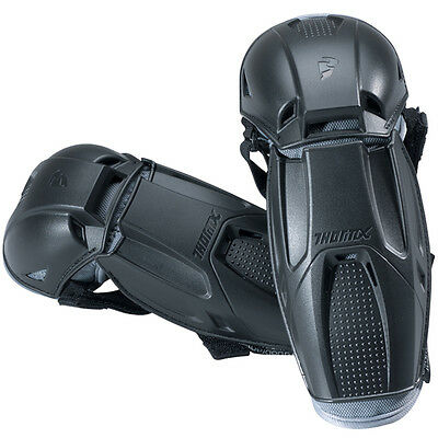 THOR MX Motocross Kids Quadrant Elbow Guards (Black) Kids
